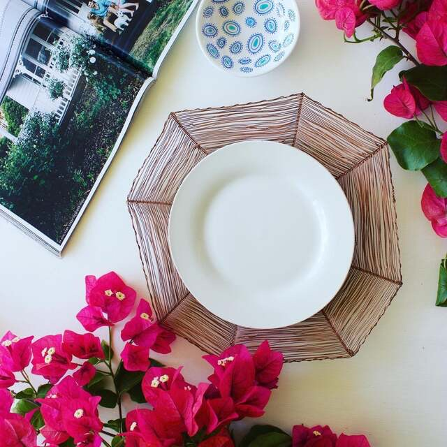 Beautiful Australian made dinnerware that looks perfect styled with afternoon tea treats