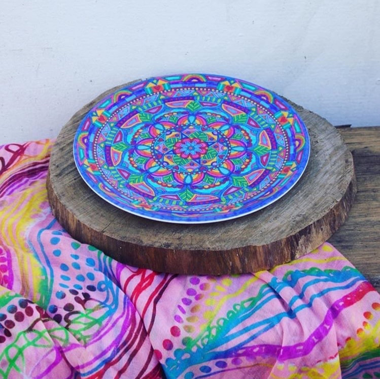 Dinner plates - Colourful, Moroccan inspired designs