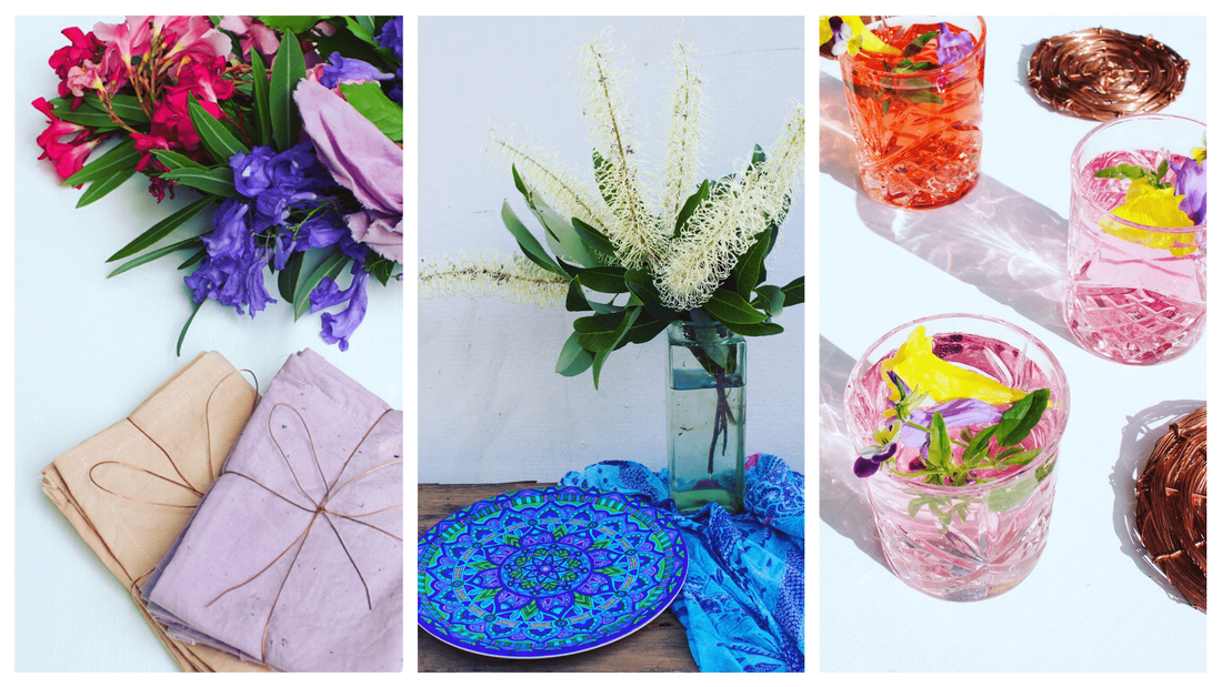 Occasion and gift ideas - bohemian tablewares and homewares