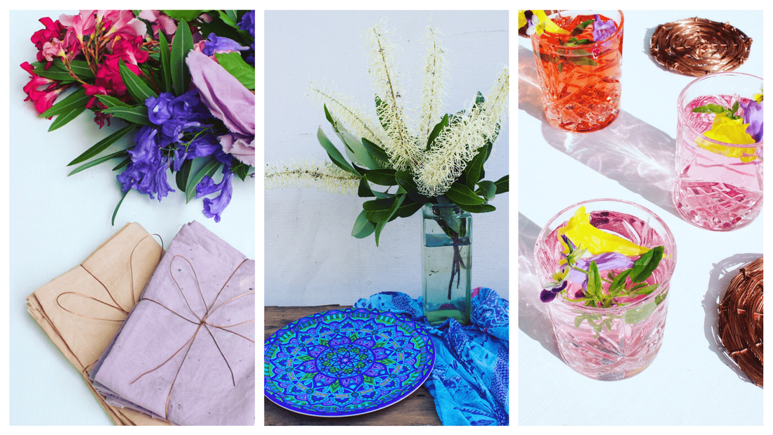 Beautiful sustainable and bohemian homewares for gifts