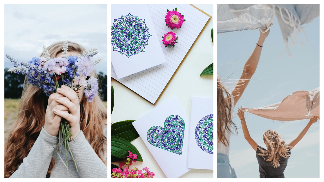 Beautiful International Women's Day gift cards that have been inspired by love and empowerment